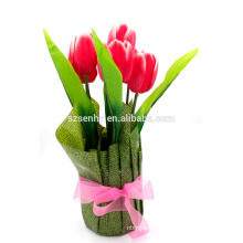 Украшение Стола Искусственный Тюльпан Цветы Центральные