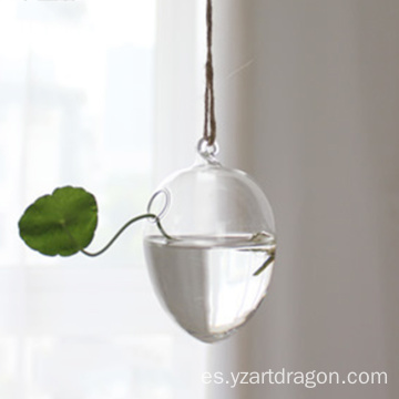 Egg Shape Hanging Vase Plant Container Flower Wall Planter Terrarium Hydroponic for Air Plants