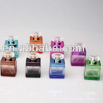 elegantes botellas de perfume de vidrio