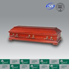 CasketBest продажи Европейский стиль дешевые деревянные похорон гроб Casket_China шкатулка производит