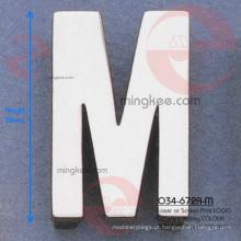 Acessórios decorativos de bolsa de letra M (O34-672A-M)
