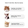 Elektrischer Haustierpflegetrockner Haustierbürstenkamm
