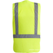 Breathable High-Visibility Safety Vest