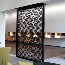 Laser Cut Metal Room Partitions