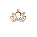Princess Crown Pendant Ingelegd Zircon