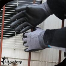 SRSAFETY preiswerter Preis / 10 Gauge Latex beschichtete Handhandschuhe / Handhandschuhe / Arbeitsarbeit Handschuhe