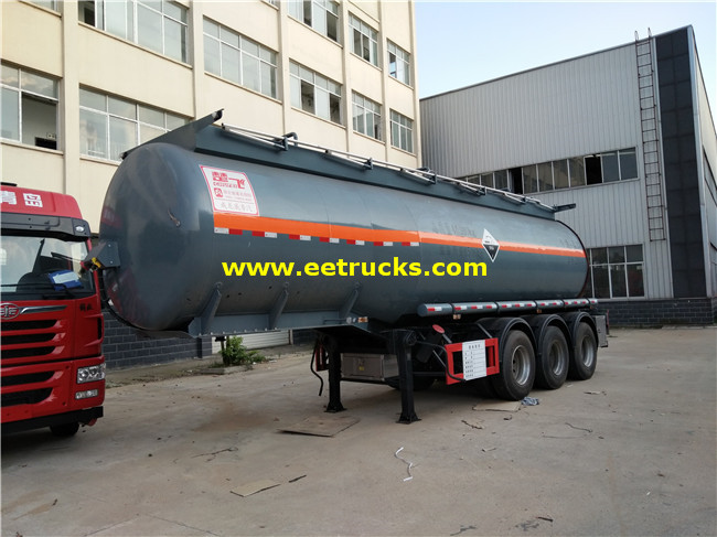 Sulfuric Acid Delivery Trailers
