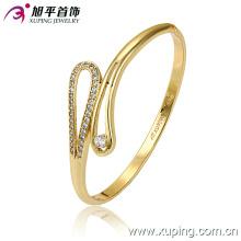 Nuevo Xuping Moda 14k Oro Delicatezircon Bangle
