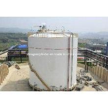 Réservoir de stockage à basse température 25m3 Réservoir cryogénique