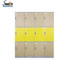 Прочный шкаф для одежды водонепроницаемый пляж тренажерный зал шкафчик больница школа АБС пластик локера