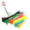 verschiedene Farbe und Größe Nylon Kabelbinder
