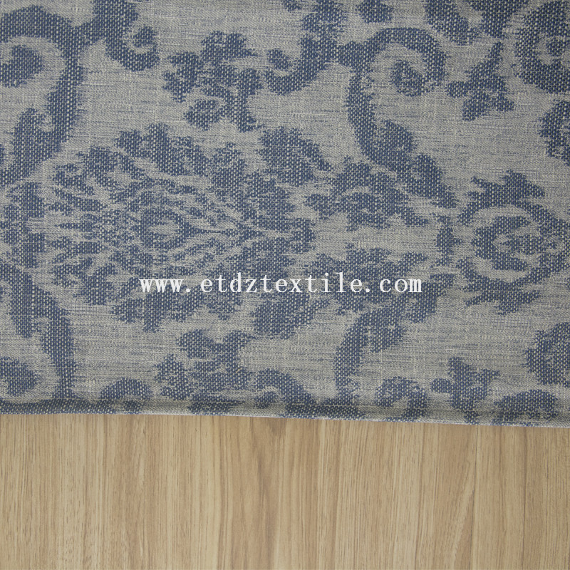 100% polyester delicate and beauty curtain 6003-2