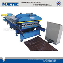 Full automatic roofing tiles making machine