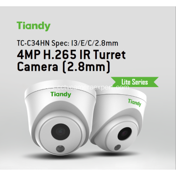 Cámara domo IP TC-C34HN Tiandy 4MP 2.8mm