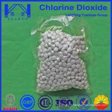 Dioxyde de chlore de qualité alimentaire stable pour l'eau potable