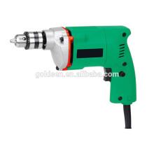 GOLDENTOOL 350w Poder Hand held Mini Craft Hobby Drill Máquina de perfuração portátil pequeno 10 milímetros Electric Drill