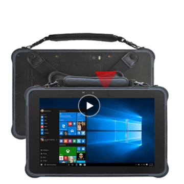 Tablet pc industrial com windows de 10,1 polegadas robusto