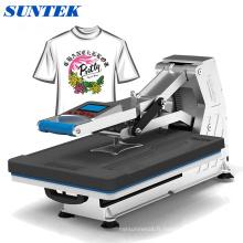 Machine d'impression automatique de T-shirt de presse de la chaleur de sublimation hydraulique St-4050