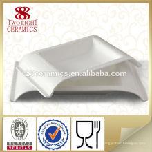 Céramique d'Haoxin vaisselle allemande Céramique blanche personnalisée plaques d'islam