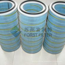 Cartucho cilíndrico y cónico del filtro de aire de la turbina de gas Spider-Web P191280 P191281