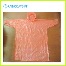Cheap Sleeve PE Disposable Raincoat Rvc-170