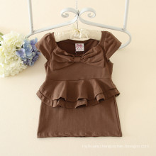 High quality Fashion kid girls puffy dresses for kids cheap