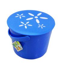 Blue Fashionable Storage Bucket with Handle (B05-66-13)