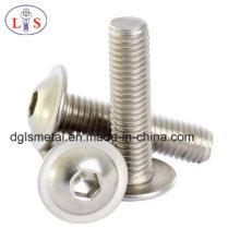 Stailess Steel 304 Button Head Hexagonal Socket Bolt