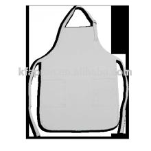 barista white apron custom logo