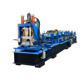 Fast Changed Size CZ Section Purlin Cold Roll Forming Machine