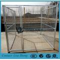 Тяжелая клетка для собак с горячим DIP оцинкованным