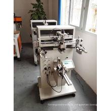 Máquina automática de la impresión de la pantalla de seda del frasco cónico automático / de la impresora de la pantalla