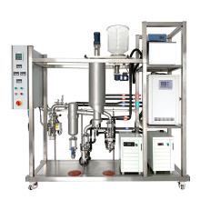 High Efficiency CBD Oil Distiller Short Path Molecular Distillation stainless steel Wiped Film evaporator