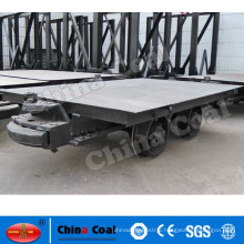 20T chinacoal platform rail trailer for coal mining