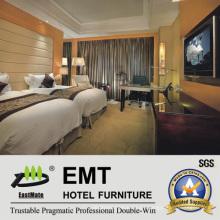 Muebles cómodos del dormitorio del hotel (EMT-B1024)
