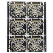 Черный цвет 1.6mm 1OZ 8L PCB