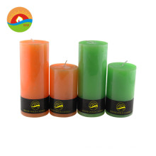 Newest luxury gift soy wax scented candles natural soy decorative pillar candle aroma candle