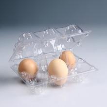 6 отверстий ПВХ одноразовых пластиковых лотков яйцо
