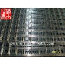 Panneau de grillage en fil métallique soudé galvanisé et panneaux en treillis métallique en acier galvanisé et panneau de fil carré 4x4