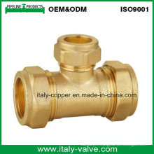 OEM & ODM Quality Brass Compression Reducer Tee (AV70028)
