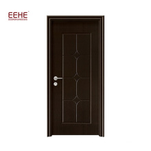 Balcony PVC Wooden Doors Prices Manufactured by China