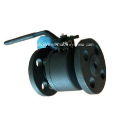 150lb 300lb Forged Steel A105 Flange Connection End Ball Valve