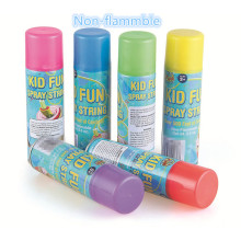 Não inflamável Kid Fun Spray String 3,0 oz