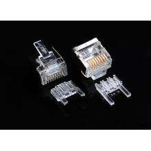 Conector blindado Cat6 Corpo curto