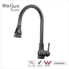 Haijun 2017 Low Price cUPC Artistic Home Brass Kitchen Sink Water Tap Faucet