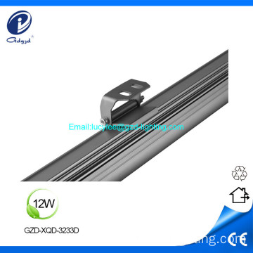 Arandela de pared de 12W aluminio IP65 facede led