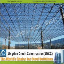 Construcción Estructura de acero de sombra