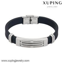bracelet-16-xuping wholesale fashion jewelry stainless steel men's bracelets