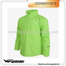 Wholesale warm lined waterproof running jacket men 2013