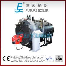 Caldeira a vapor horizontal automática a óleo / gás para aquecimento urbano